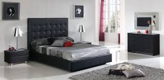 Black Glass Bedroom Furniture by Black And Gray Bedroom Design Video And Photos Madlonsbigbear Com