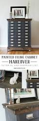 How To Paint A Metal File Cabinet Metal Filing Cabinet Makeover My Diy Envy