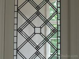 Antique Stained Glass Door by Stained And Leaded Glass Doorlight