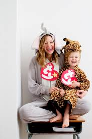 Halloween Costume Ideas For Family Of 5 Laughing Latte Beanie Baby Costume Free Printable Beanie Baby