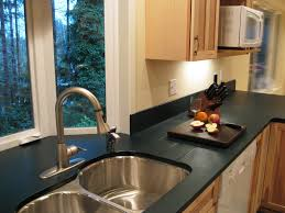 Black Kitchen Countertops by Interesting Modern Kitchen Design With Black Kitchen Counter Tops