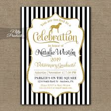 veterinary school graduation invitations nifty printables