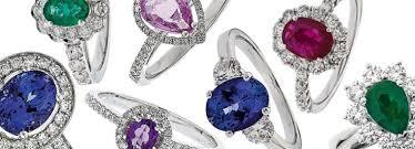coloured stone rings images Coloured stone rings precious gem stones diamond aurora jpg