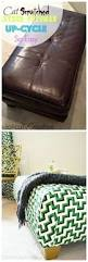 Diy Reupholster Ottoman by Reupholstering Ottoman How To Do The Corners Diy Projects