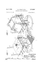 Mechanical Chair Patent Us3116952 Mechanical Chair Construction Google Patents