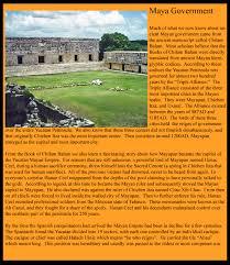 Mayan Empire Map Mayan Government 3 Jpg