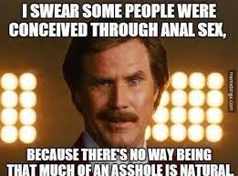 Funny Anal Meme - conceived through anal meme fail pictures conceiving and ecards