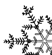 free snowflakes clipart pictures clipartix