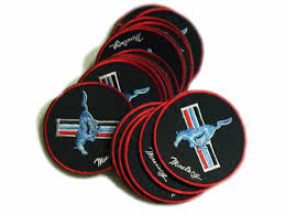 ford mustang patch ford mustang patches logo power car limited 5pcs ford patches