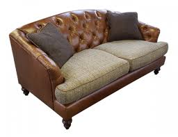 dalmore accent option b hide u0026 tweed sofa