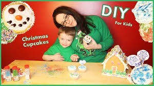 diy christmas cupcakes easy decorating ideas for kids u0026 adults
