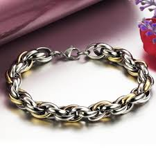man silver bracelet jewelry images Silver bracelets for men with price aliexpress mobile global jpg