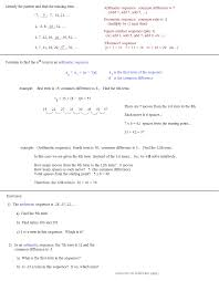 math plane sequences and series i