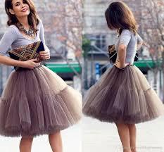 cute short skirts young ladies knee length women skirts tutu