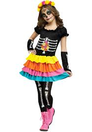 kids day of the dead costume child halloween costumes at