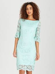 light green dress with sleeves eligere flutted sleeve lace dress light green yq648z1 spree co za