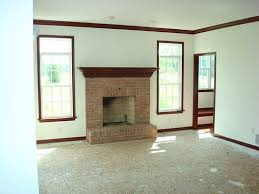 share your rooms with dark wood trim and molding