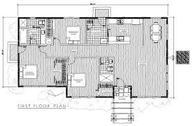a frame house floor plans timber frame modern 4 plan