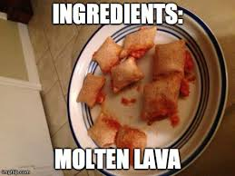 Pizza Rolls Meme - i just burned my tongue so bad on that one with the bite out of it