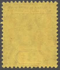 kgvi stamps kgv 3d yellow paper issues
