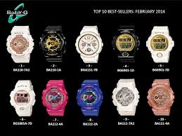 Harga Jam Tangan Baby G Pink top ten selling g shocks for february 2014