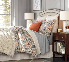 Duvet Covers What Are They Veronica Organic Duvet Cover U0026 Sham Pottery Barn