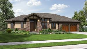 prairie style floor plans single story cottage style house plans ideas design craftsman
