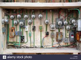dangerous electric meter messy faulty electrical wiring
