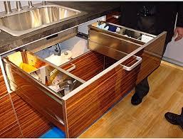 kitchen sink storage ideas sink storage kitchen drawer from polywood materials for