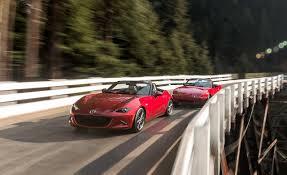 mazda car and driver 2016 mazda mx 5 miata automatic review car and driver
