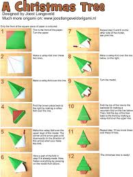 origami tree and ornaments origami paper