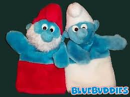 smurf puppets papa smurf puppet u0026 smurf puppet smurfs gallery