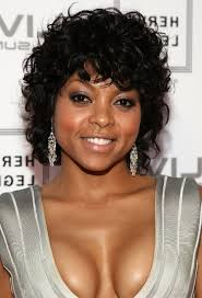 african american hairstyles for women over 40 afro american curly haircut taraji p henson s black curly