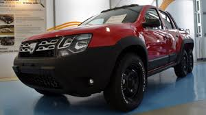 renault dacia renault dacia duster 6x6 pickup truck dustruck check out
