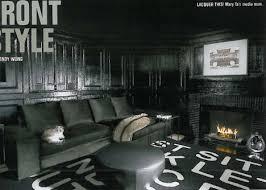 Black Interior Paint Dark U0026 Dramatic Design 16 Bold Black Room Interiors Urbanist