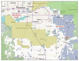 Skyline Drive Map Pinal County P U0026z Supports Rose Law Group Client Skybridge In A