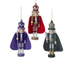 nutcracker ornaments green and purple king nutcracker ornaments 3