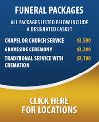 funeral packages harrison