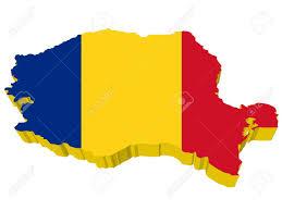 Romania Map Vectors 3d Map Of Romania Royalty Free Cliparts Vectors And