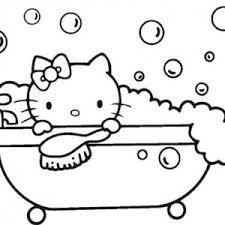 bathtub of bubbles for bath coloring pages bulk color