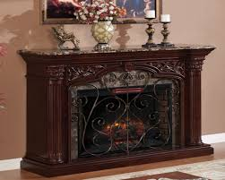 stunning black and tempered akdy wall mount electric fireplace