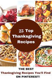 25 top thanksgiving recipes princess