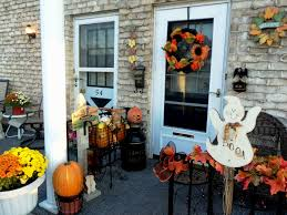 Front Porch Decor Ideas Small Front Porch Decorating Ideas For Fall
