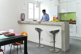 cuisine comptoir bar comptoir cuisine superbe fabriquer un comptoir de cuisine en
