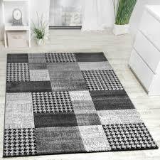 tappeto design moderno tappeto design moderno a quadri lavorato a mano con bordo grigio