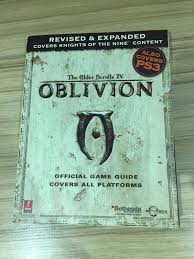 the elder scrolls iv oblivion official game guide covers all