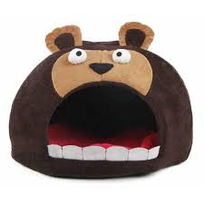 pet life one size dark brown roar bear snuggle plush polar fleece