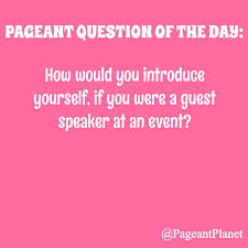 233 free practice pageant questions pageant interview questions