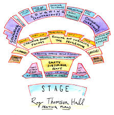 Royal Festival Hall Floor Plan A Toronto Symphony Fan Suggests New Seating Plan For Pesky Roy