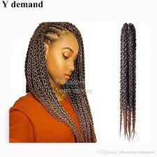 best braiding hair for senegalese twist best ombre senegalese crochet braids 18 20strands curly synthetic